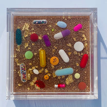 "Load image into Gallery viewer, THE Pill Catchall - 4x4"" trinket trays"