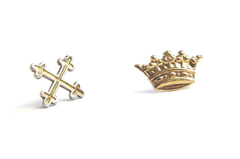 Bing Bang Royal Duet Studs