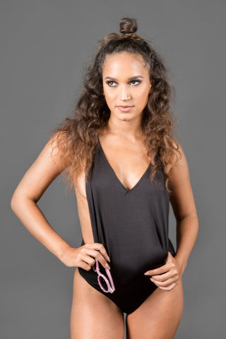 Body Me Bodysuit - Black