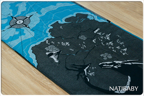 Archive: Scrap pack: Natibaby Marsupial Mamas Exclusive: The One Wrap to Wear Them All (Black Hemp Version)