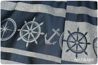 Natibaby Marsupial Mamas Exclusive:  Nautical (Linen Blend)