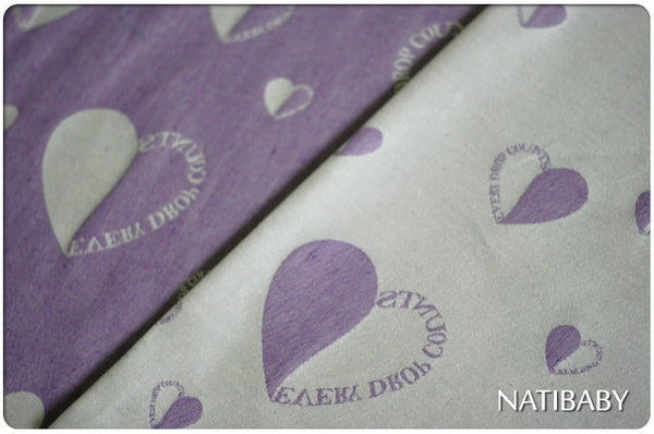 Bargain Bin: Natibaby Marsupial Mamas Exclusive: Every Drop Counts Purple (Hemp Blend)