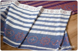 Archive: Natibaby Marsupial Mamas Exclusive:  Nautical (Bamboo/Linen Blend)