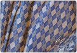 Archive: Marsupial Mamas Exclusive: Natibaby Argyle Blue (Hemp Blend)