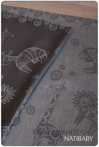 Natibaby Ethno Kyanite Gris (Linen Blend)