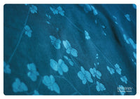Archive: Natibaby Orchids Cyan (Bamboo/Hemp Blend)