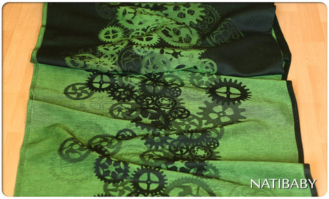 Archive: Natibaby Clockwork Emerald (Linen Blend)