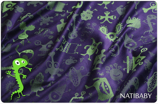 Archive: Natibaby Monsters Violet (Linen Blend)