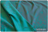 Archive: Natibaby Swallows Turquesa (Linen Blend)