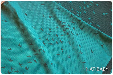Archive: Natibaby Delin Cyan (Hemp Blend)