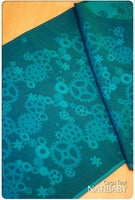 Archive: Natibaby Cogs Teal (Hemp Blend)