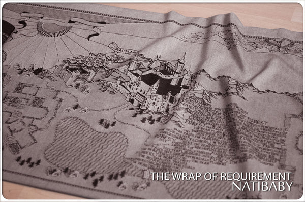 Archive: Natibaby The Wrap of Requirement (Merino Wool Blend)