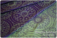 Archive: Scrap: Natibaby Rosetta Circles Amethyst (Silk)