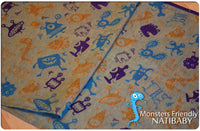 Archive: Natibaby Monsters Friendly (Linen Blend)
