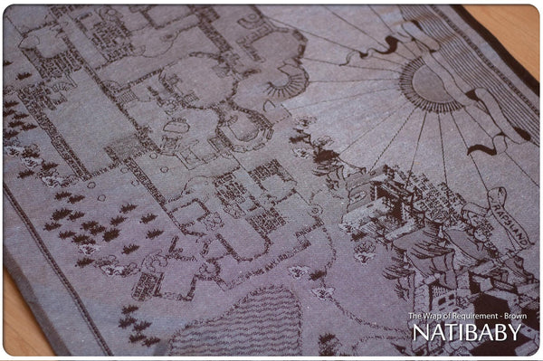 Archive: Natibaby Wrap of Requirement Brown (Hemp Blend)