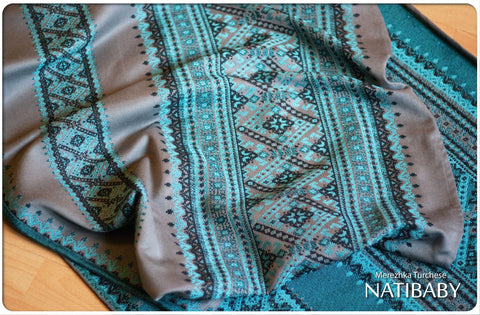 Archive: Natibaby Merezhka Turchese (Silk Blend)