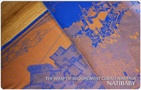 Archive: Natibaby Wrap of Requirement Cobalt Naranja (100% Cotton) Medium Ring Sling (2.0 Meters) Pleated Shoulder