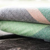 Baby Doo Herba, Woven Wrap, Baby Carrier, Fresh earthy greens and muted browns transport you to a lush and peaceful garden.