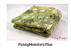 BabyMonkey: FunnyMonster Fluo (100% Cotton)