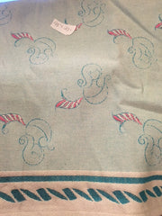 Scarp of a Natibaby mystery wrap. Marsupial Mama.