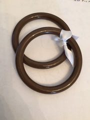 Sling Rings, Nylon Large Brown. Marsupial Mamas.