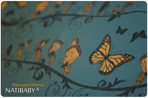 Archive: Natibaby Marsupial Mamas Exclusive: Monarch (Linen Blend)