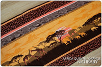 Archive: Natibaby Africa Quente Orange (100% Cotton)