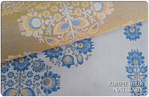 Archive: Natibaby Kurpie Blua (Cotton/Linen Blend)