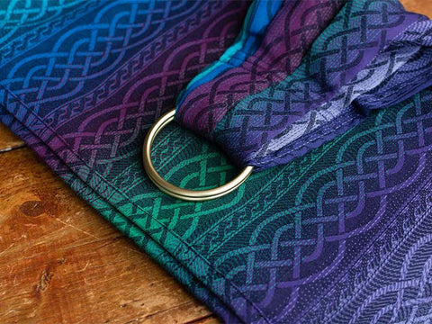 Archive: Oscha Sling Braid Reel (Wool) Gathered Ring Sling