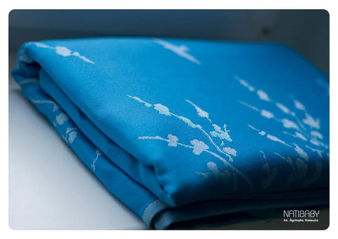 Archive: Natibaby Blue White Swallows (Silk Blend)
