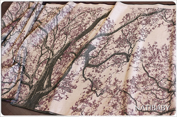 Archive: Natibaby Marsupial Mamas Exclusive: Cherry Tree (Linen Blend)