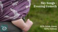 Archive: Danu Slings Sky Songs Evening Cometh (Irish Linen Blend) Size 6 (4.6 Meters)