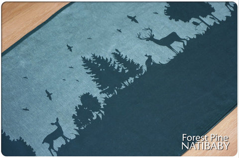 Archive: Natibaby Forest Pine (Linen Blend)
