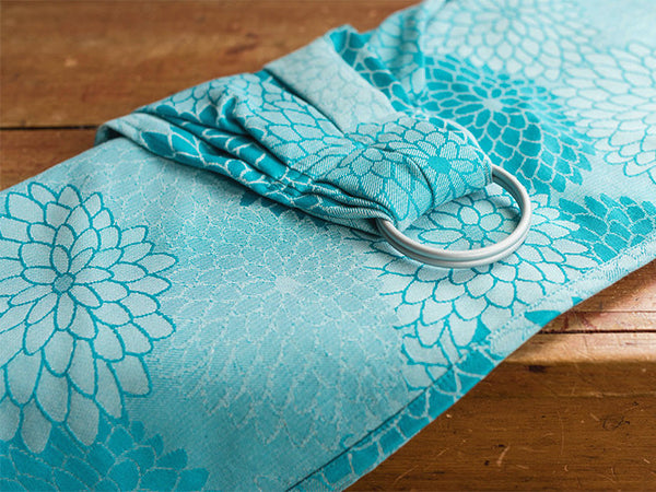 Archive: Oscha Sling: Kiku Sal Ring Sling, Gathered, Silver