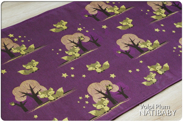 Archive: Natibaby Volpi Plum (Hemp Blend)