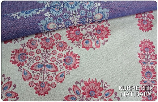 Archive: Natibaby Kurpie Rouge (Cotton/Linen/Merino Wool Blend)