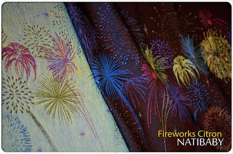 Archive: Natibaby Fireworks Citron (Linen Blend)