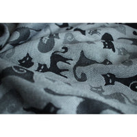 Bargain Bin: Yaro Cats Black White Ring Sling Cotton/Wool