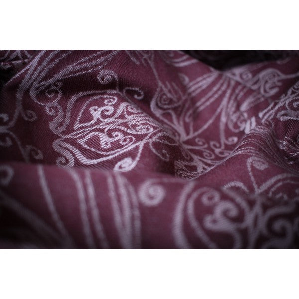 Archive: Yaro Elvish Bordeaux Oleander 100% Organic cotton Ring Sling