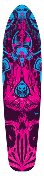 THE PSYCHODELIC LONGBOARD