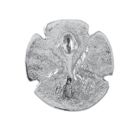 "10076 - 5/8"" SAND DOLLAR CHARM WITH HIDDEN BAIL - Jewelry Works"