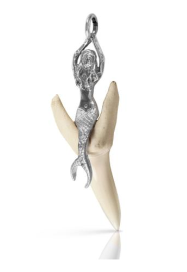 10205T - MERMAID SHARK TOOTH PENDANT