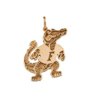 "7/8"" Albert Gator 14K Gold Pendant - Jewelry Works"