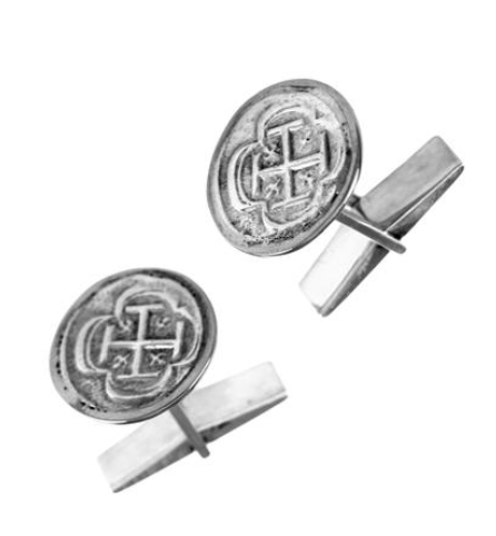 "5/8"" REPLICA ATOCHA CUFF LINKS - ITEM #30752CL - Jewelry Works"