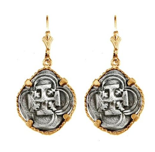 "3/4"" REPLICA ATOCHA EARRINGS ON LEVERBACKS - ITEM #30768DA"