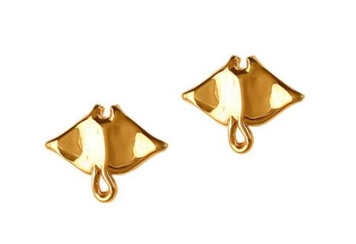 30806 - MANTA RAY STUD EARRINGS