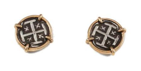 "1/2"" REPLICA ATOCHA STUD EARRINGS - ITEM #30823"