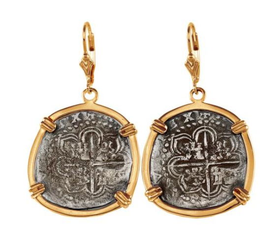 "1"" REPLICA ATOCHA EARRINGS - ITEM #30910 - Jewelry Works"