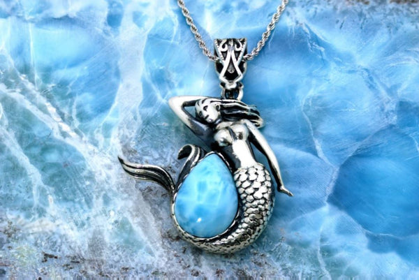 The Larimar Mermaid