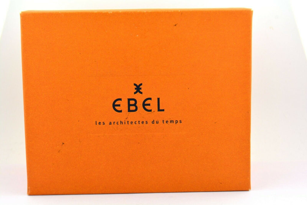 "Men's Ebel Watch ""Classic Hexagon"" Automatic Stainless Steel Croc 47MM Cal 305 - Jewelry Works"